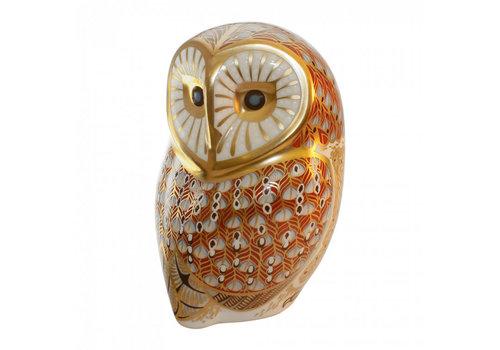 Royal Crown Derby Royal Crown Derby Barn Owl Figurine