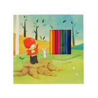 Poppi Loves Notebook & Colouring Pencils