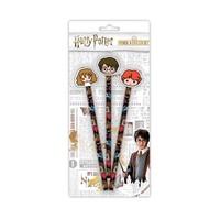 Harry Potter Eraser and Pencil Set