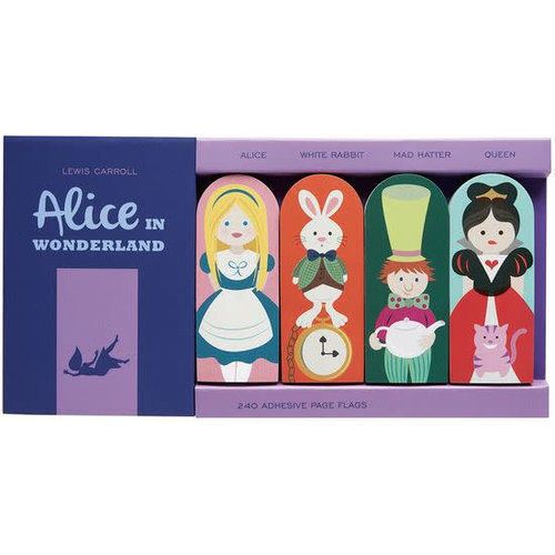 Alice in Wonderland Page Flags