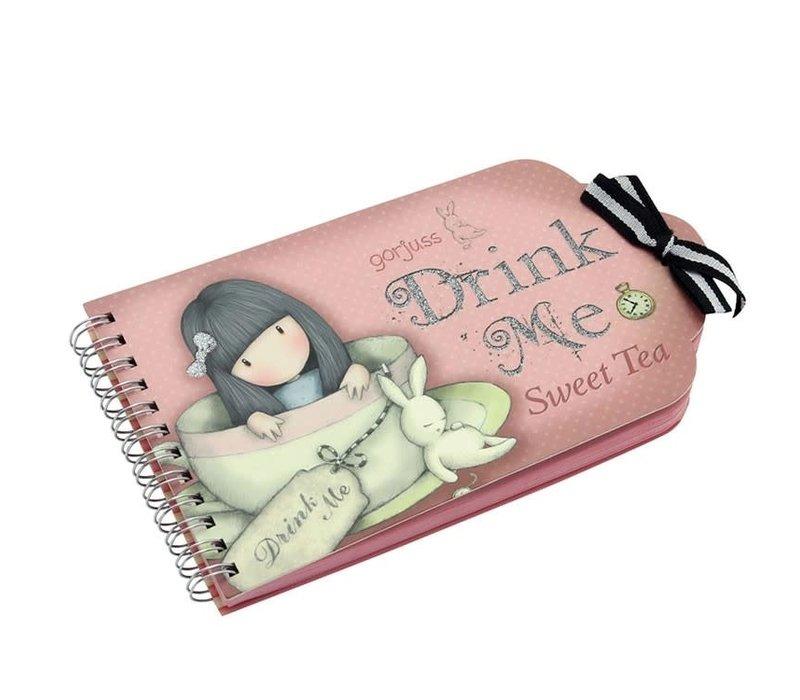 Gorjuss Sweet Tea Notebook