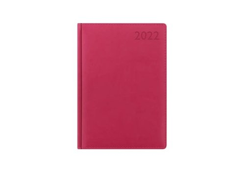Letts of London 2022 Verona Desk Planner- Pink