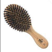 Men's Oval Club Black Bristle Brush
