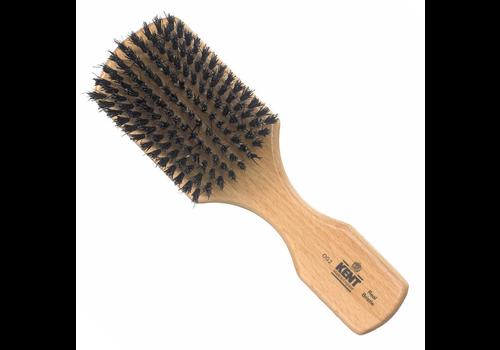 Kent Men's Rectangular Handle Black Bristle Brush OG2