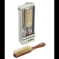 Narrow Soft White Bristle Brush