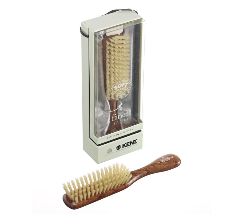 Narrow Soft White Bristle Brush DA4S
