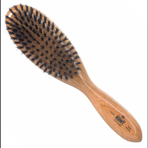 Kent Ladies' Oval Hairbrush - Black Bristle LC22
