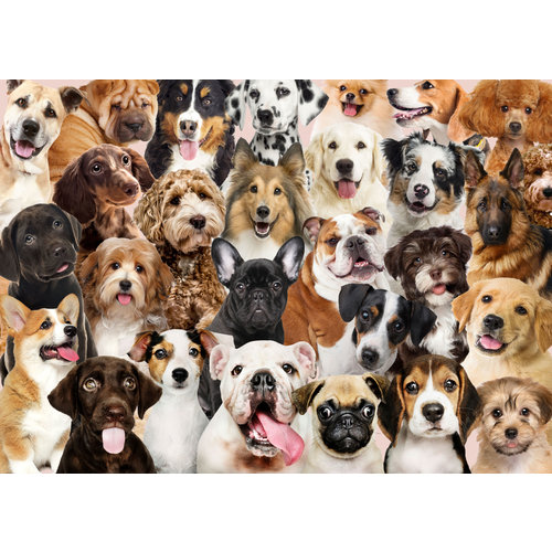 All the Dogs 500 Piece Puzzle