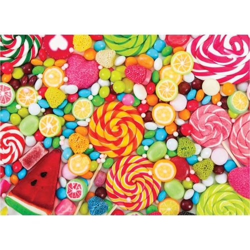 All the Candy 500 Piece Puzzle