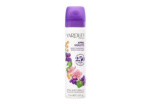 Yardley April Violets Body Spray