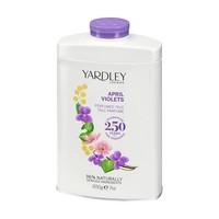 April Violets Perfumed Talc