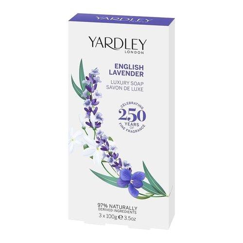 Yardley English Lavender Luxury Soap (box of 3)