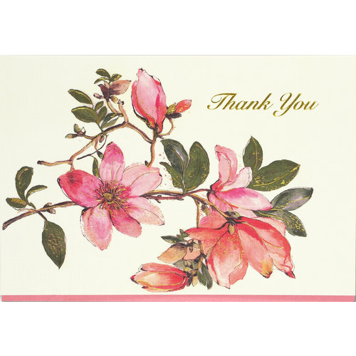 Magnolia Thank You Notecards