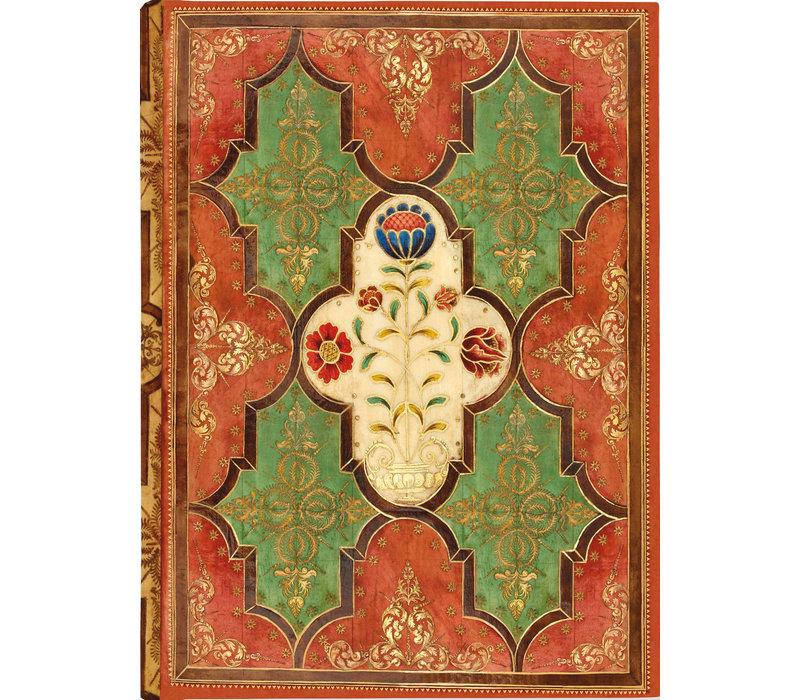Floral Parchment Journal