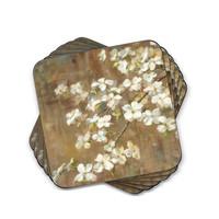 Pimpernel Dogwood in Spring Coasters Set of 6