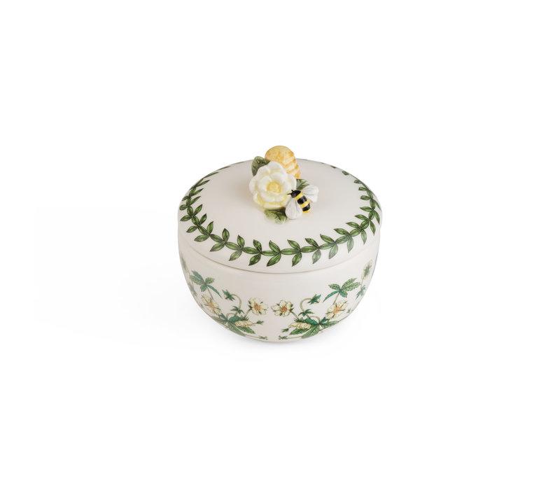 Botanic Garden Bouquet Bumblebee Trinket Box