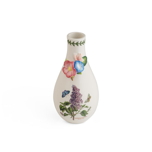 """Portmeirion Botanic Garden Bouquet Garden Lilac 8"""" Vase"""