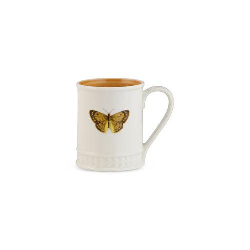 Portmeirion Botanic Garden Harmony Papilio Amber 16 Ounce Tankard Mug