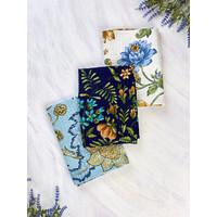 Winter Provence Patchwork 3 Tea Towel Bundle