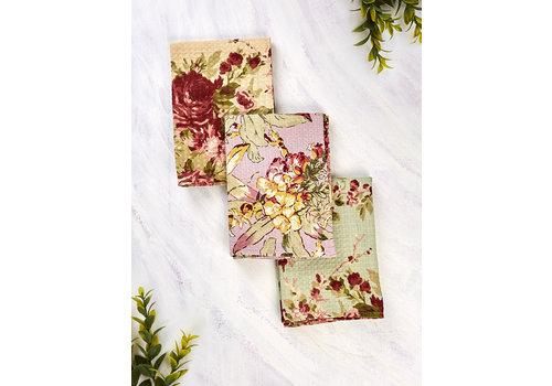 April Cornell Cottage Core Patchwork 3 Tea Towel Bundle