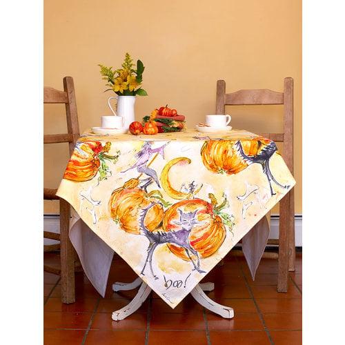 April Cornell BOO! Square Tablecloth