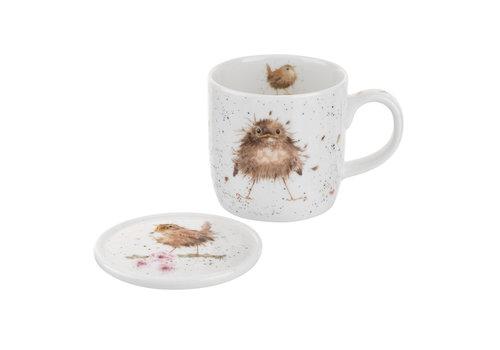 Wrendale Wrendale Flying the Nest Mug & Coaster Set