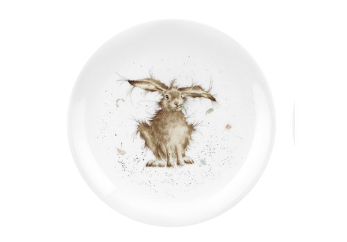 """Wrendale Hare Brained 8"""" Plate"""