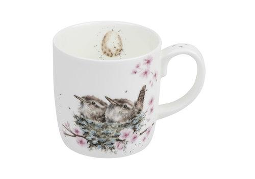 Wrendale Feather Your Nest Large Mug