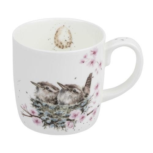 Wrendale Feather Your Nest Mug (14oz)