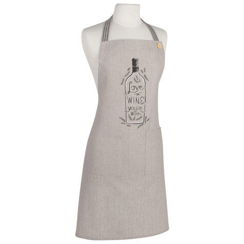 Now Designs Love the Wine You're With Apron