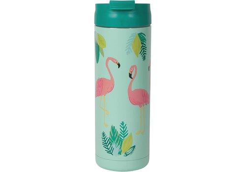 Now Designs Flamingo Travel Mug