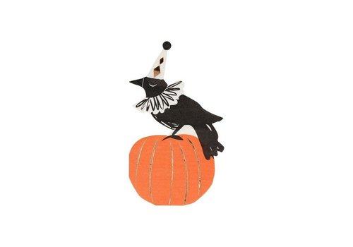 Meri Meri Vintage Halloween Crow Napkins