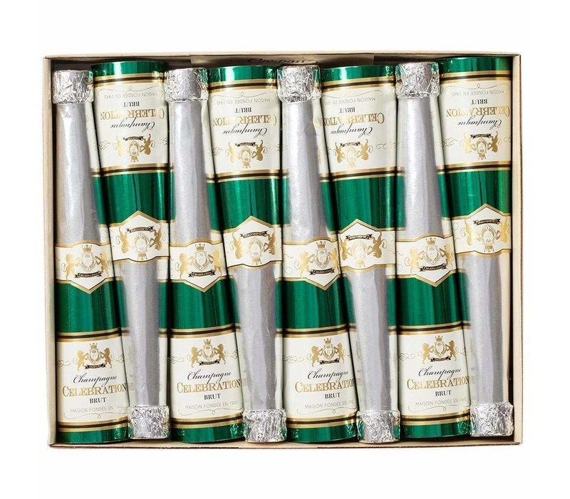 Champagne Bottle Cone Crackers