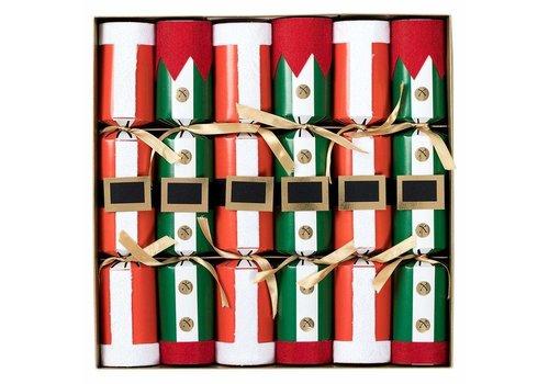 Caspari Santa and Elf Costumes Celebration Christmas Crackers