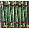 Caspari Christmas Cone Crackers Glittering Tree
