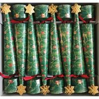 Christmas Cone Crackers Glittering Tree