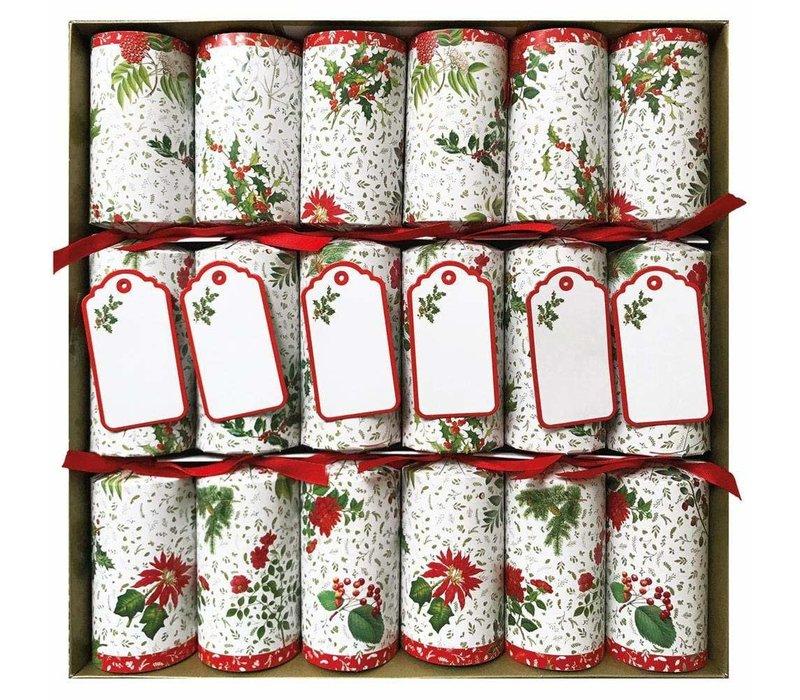 English Winter Garden Christmas Crackers