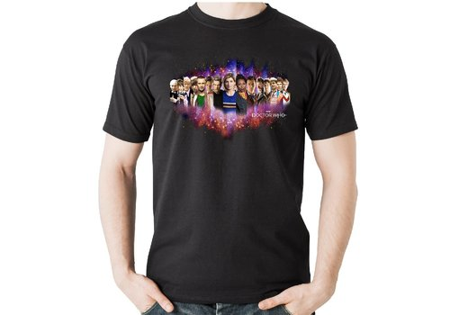 Spike Leisurewear Doctor Who The Doctors T-Shirt