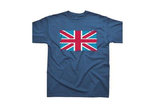 Spike Leisurewear Union Jack Navy T-Shirt