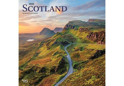 BrownTrout Publishers Scotland 2022 16 Month Calendar