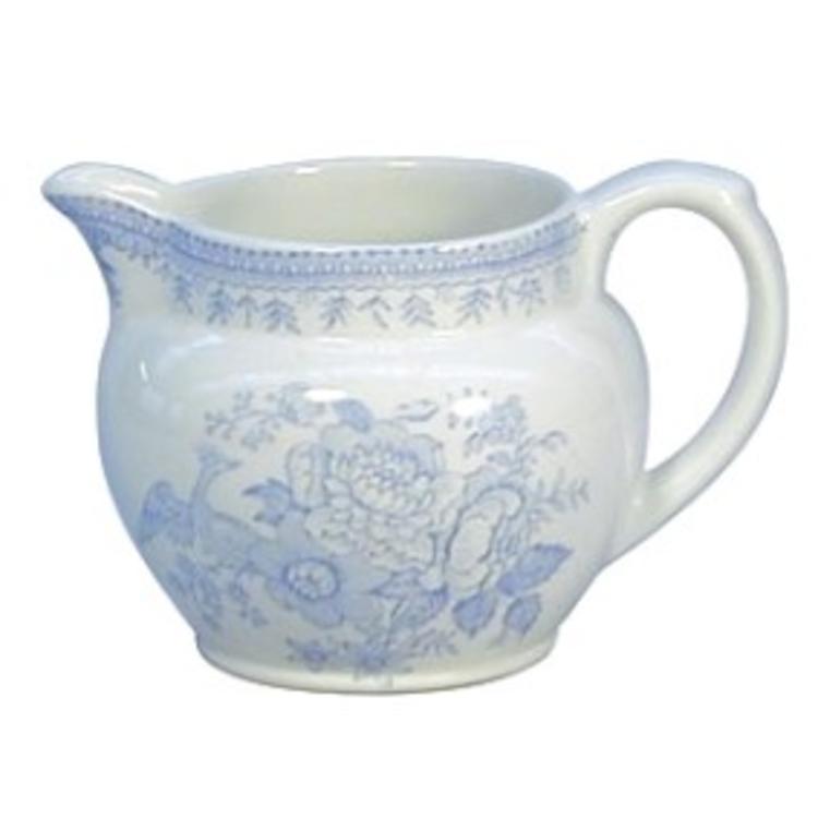 Burleigh Pottery Asiatic Pheasants Blue Small Dutch Jug