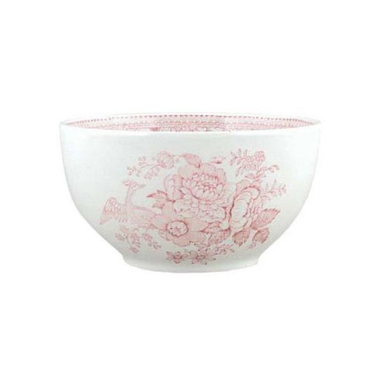 Burleigh Pottery Asiatic Pheasants Pink Small Sugar Bowl