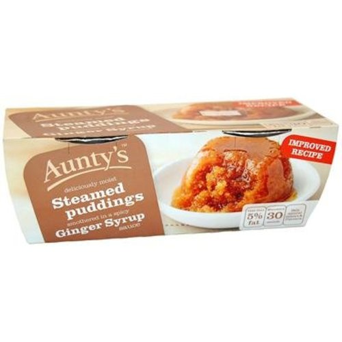 Aunty's Ginger Syrup Pudding