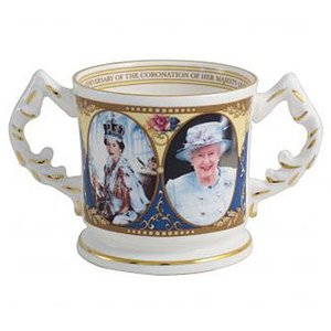Aynsley China Coronation Loving Cup