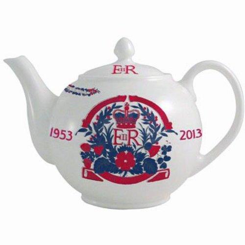 Aynsley China Coronation Teapot