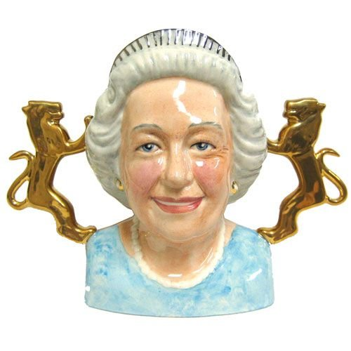 Bairstow Manor Pottery Diamond Jubilee Queen Bust