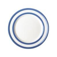 """Blue Cornishware 9"""" Breakfast Plate"""