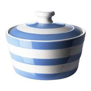 Cornishware Blue Cornishware Butter Dish