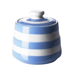 Cornishware Blue Cornishware Covered Sugar Bowl