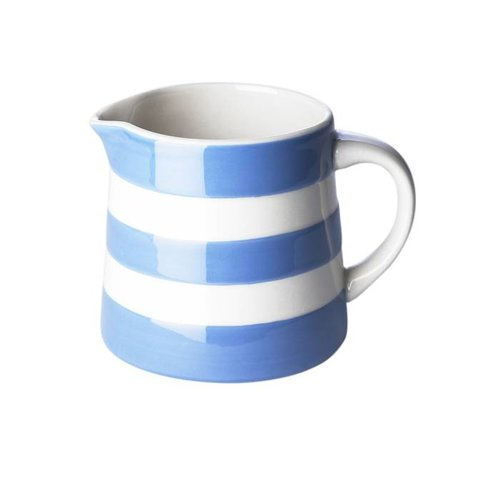 Cornishware Cornishware Dreadnought Jug 10 oz - Blue